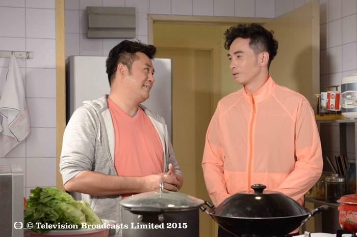 Mạch Trường Thanh (vai Dư Gia Kính) và Trần Hào