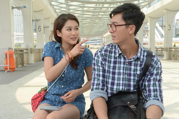 Sầm Lệ Hương và Vương Hạo Tín trong phim Nô lệ nhà ở