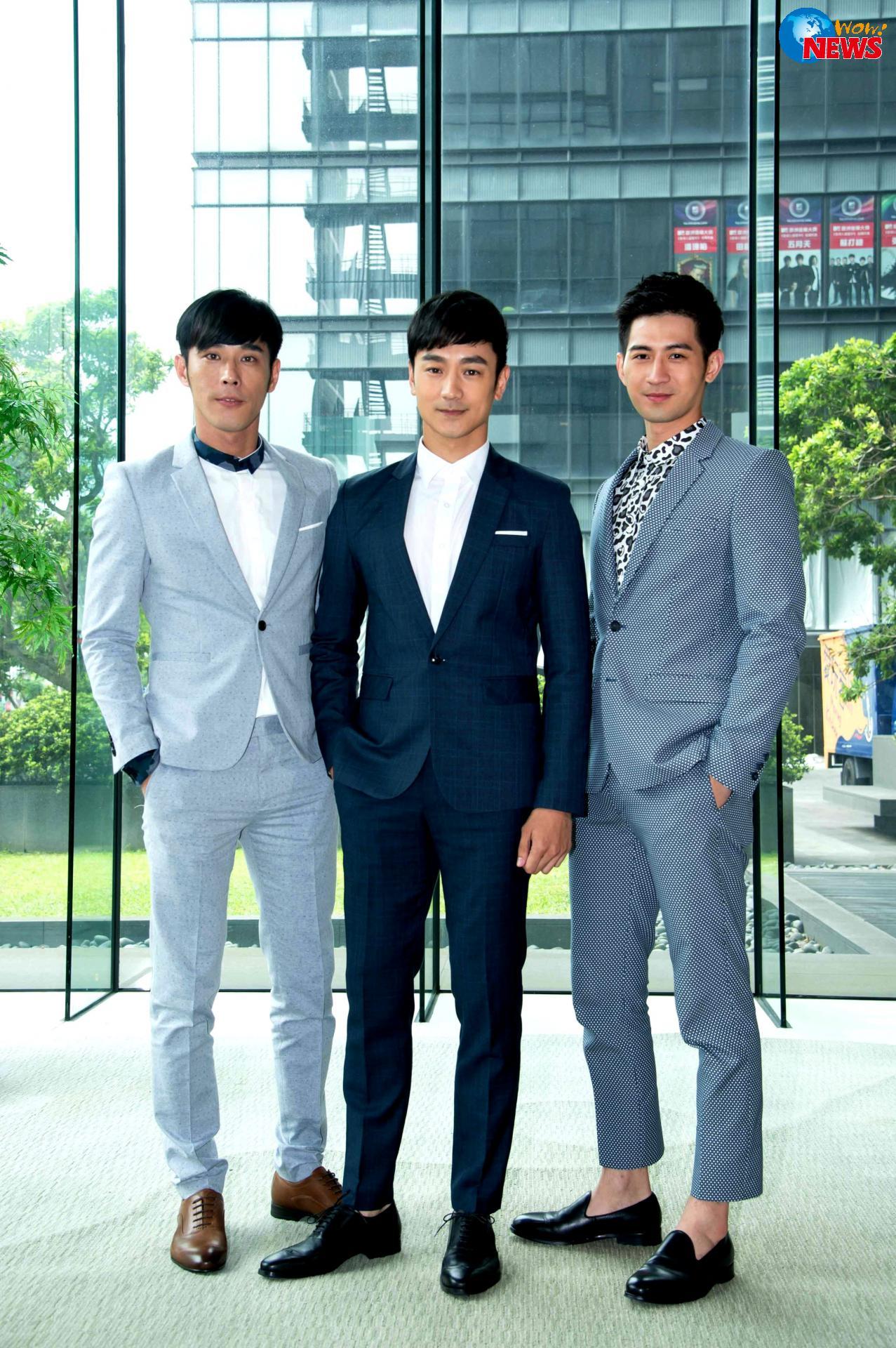 Huỳnh Đằng Hạo, Lâm Hựu Uy và Giản Hoằng Lâm đóng vai anh em