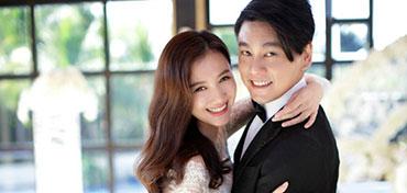 Chu Hiếu Thiên và Hàn Văn Văn chụp ảnh cưới