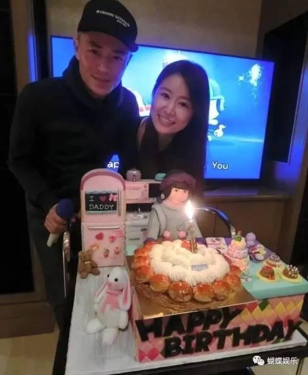 Lâm Tâm Như và Hoắc Kiến Hoa vui mừng đón thành viên mới của gia đình vào dịp đầu năm 2017