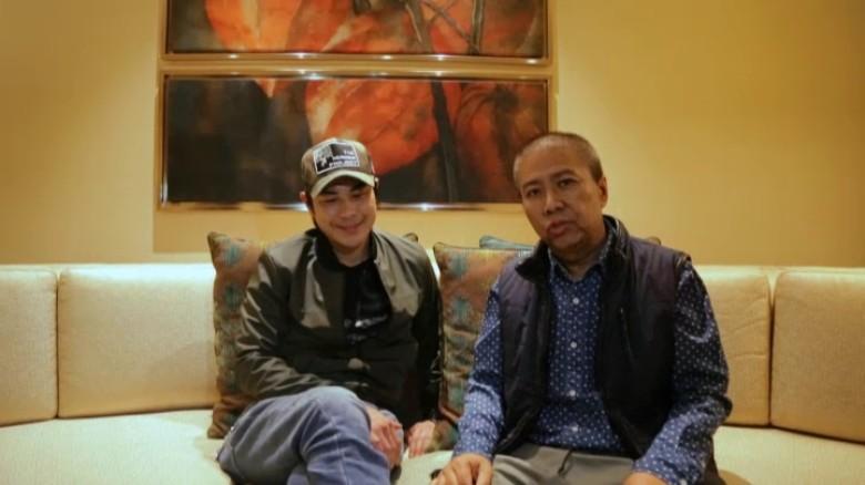 Trịnh Gia Dĩnh và đạo diễn Trần Quả thông qua video giải thích quá trình sự việc xảy ra tại Macau
