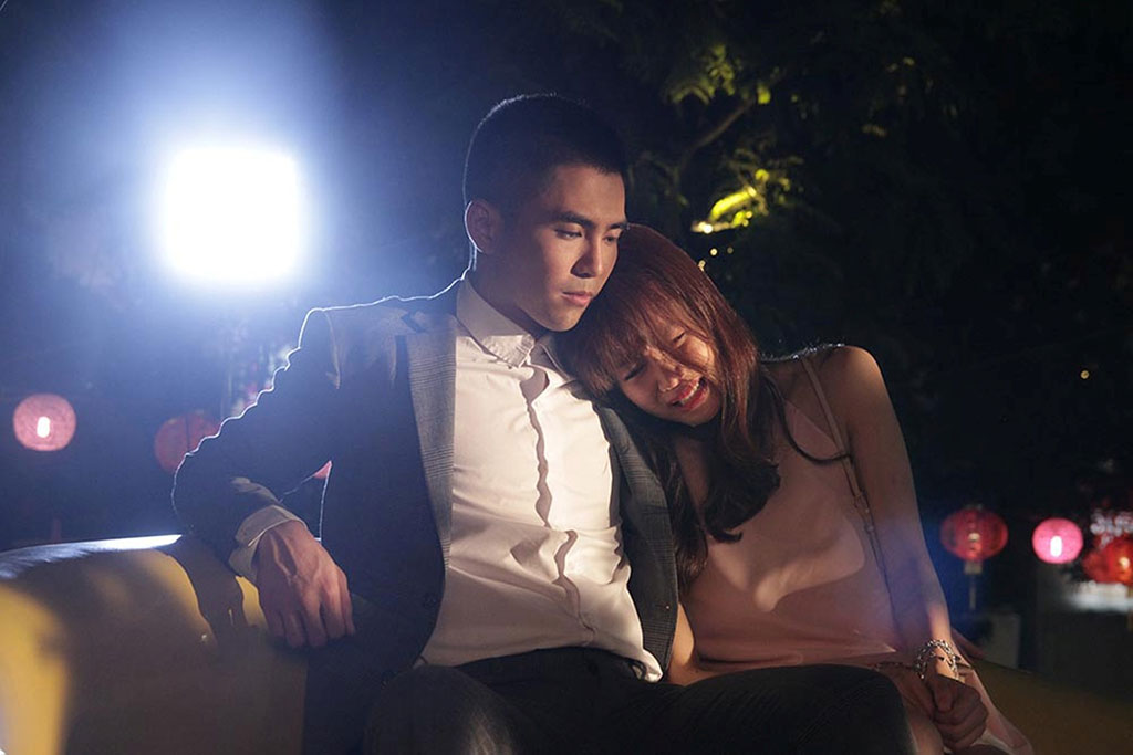Ngoài Trấn Thành, An Nguy còn có nhiều cảnh diễn tay đôi với Will 365 với vai Mít (Ảnh: ĐPCC)
